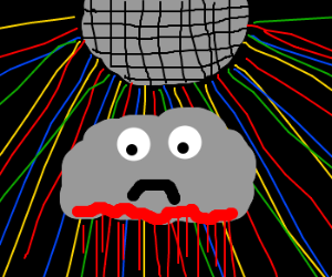 Sad bloody cloud loves to dance