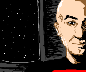 Captain JeanLuc Picard of USS Enterprise