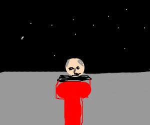 Picard on the moon