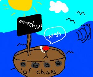 Anarchist pirate