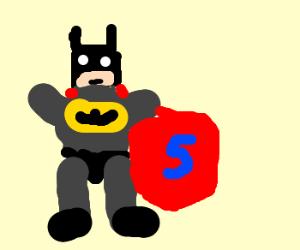 batman steals superman's cape