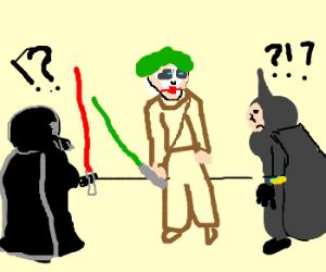 The Joker is Luke Skywalker