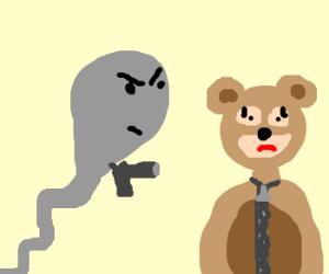 sperm robs furry