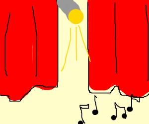 Overture, Curtains, Lights ...