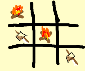 Campfire Tic Tac Toe is confusing