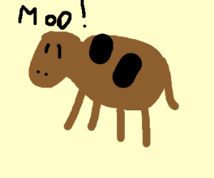 Under no circumstances draw a cow!