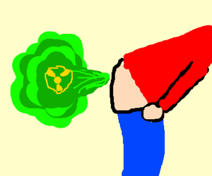 Massive Explosive Fart