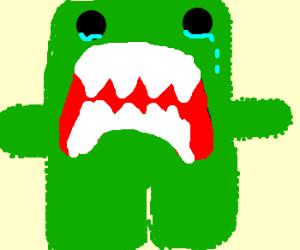 Sad green domo