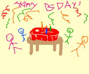 Happy Birthday Steak