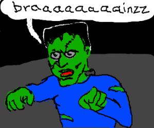 Green Frankinstein? needs braaaaaainzz