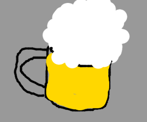 Pouring A Frothy Mug Of Beer