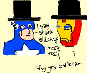 Those boring english 'Avengers'