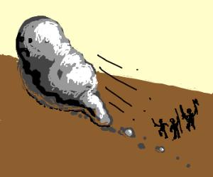 Metallic Slime has run away!
