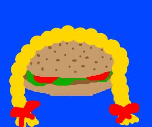 Hairy burger