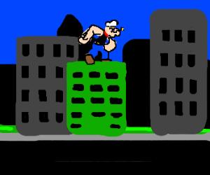 Popeye on rampage