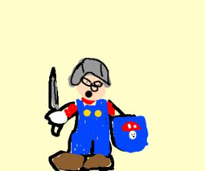 Medieval Mario