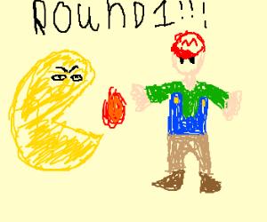 PAC-MAN VS. MARIO, FIGHT!