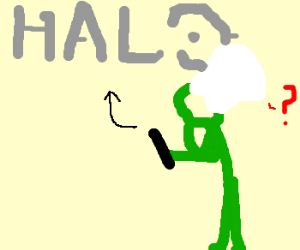 A green chef doesn't know what Halo is.