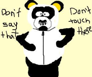 Sexual harassment panda png