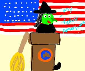 Wicked Witch becomes President of USA