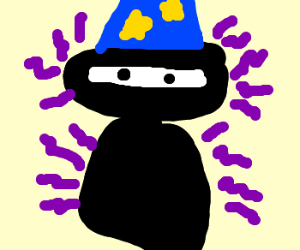 Ninja Wizard smells like purple.