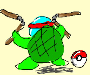 Squirtle-ninja-turtle