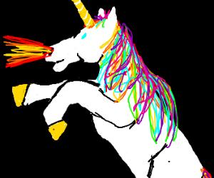 Firebreathing Unicorn