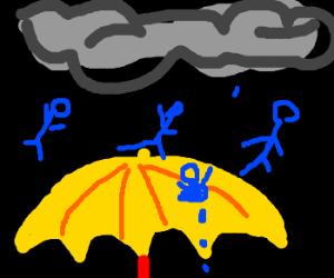 It's raining men... and I like it!