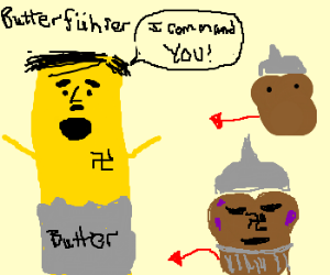 butterführer commands evil muffins