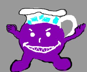 Angel of Death doesn't like you. Purple Kool Aid Man