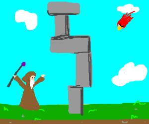 Vertical Stonehenge? What?