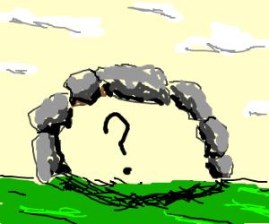 Rocks covering secret