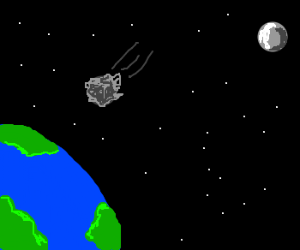 The Earth without the Moon - Drawception