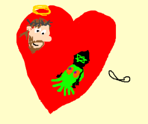 Jesus and Jewthulu, forever! <3