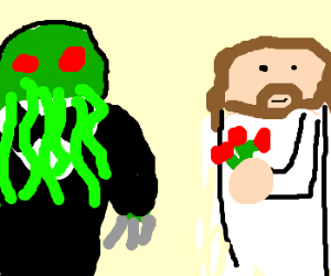 Cthulhu and Jesus get married
