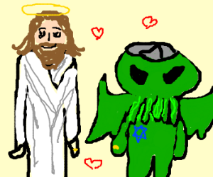 Jesus marries jewish cthulhu