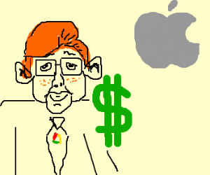 Bill Gates buys Apple