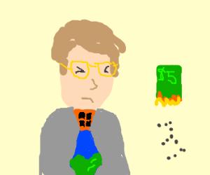 Bill Gates an Apple a Day