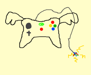 flying xbox controller is electric