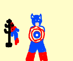 Spiderman wants to be an Avenger