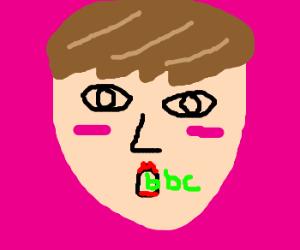 Justin beiber sucks the bbc