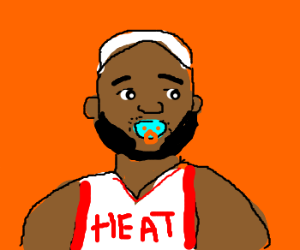 Can I get a binky for baby Bron Bron?