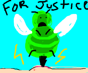 Green bee seeks justice
