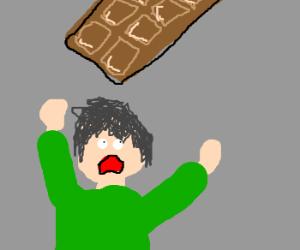 Wants some Chocolate