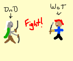 Drizzt Do'Urden vs. Rand Al'Thor
