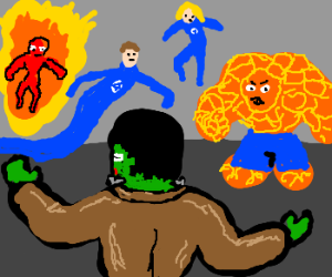 Frankenstein meets Fantastic Four