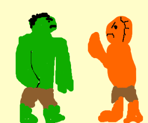 The Hulk vs. The Thing