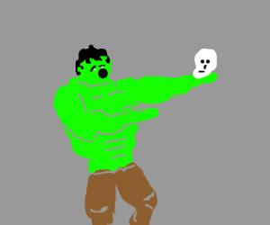The Hulk recites Shakespear