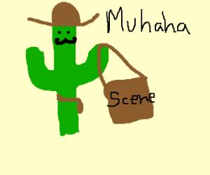 cactus cowboy steals scene