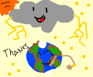 Thundercloud cons planet earth